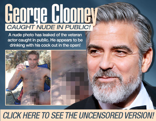 Nude images george clooney