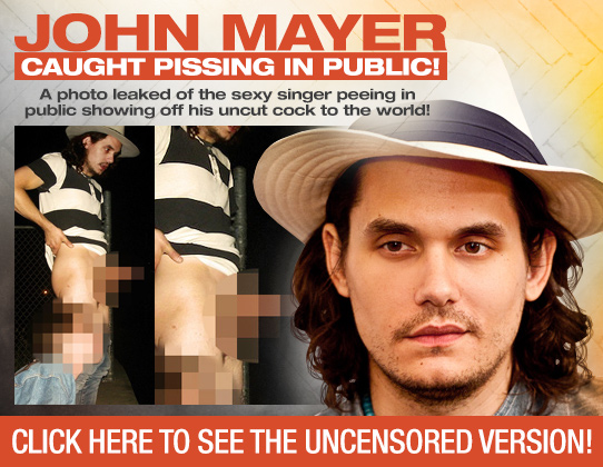Excellent John mayer fake nudes